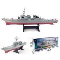 Navio De Guerra Destroyer Militar Brinqtoys