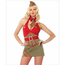 Disfraz Major Diva Sexy Army Girl Leg Avenue