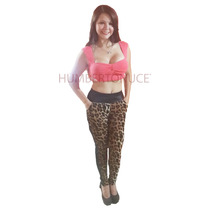 Hermosos Leggins Animal Print Damas