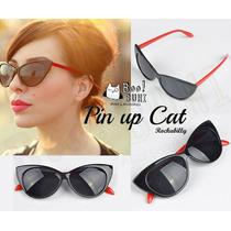 Cat Eyes (agatados) Lentes De Sol / Modelo Exclusivo .
