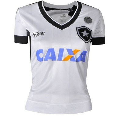 Camisa Botafogo Jogo Iii Feminina Sem Número Com Patrocínio - R  149 ... 7a35624321a95