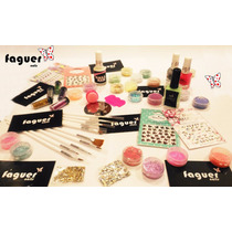 Kit Completo Para Decoración De Uñas - Nail Art!