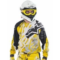 Conjunto Motocross Alpinestars Pantalon + Buzo Original 100%