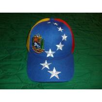 Gorra Arqueada De La Tricolor De Venezuela