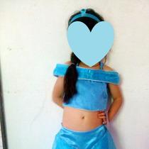 Hermoso Disfraz De La Princesa Jazmin De Aladdin