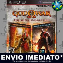 God Of War Origins Collection - Ps3 - Cód Psn - Envio Agora