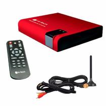 Receptor Antena Tv Digital Para Dvd Automotivo Kit P/ Carro
