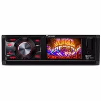 Toca Cd Dvd Pioneer Tela 3 Dvh 7580 Radio Am Fm Cd Mp3 Usb
