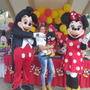 Muñecotes Mickey Minnie Goofy Pluto La Casa De Mickey Mouse