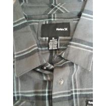 Camisa Hurley Talla Xl Jovenes Usd 40 Color Gris De Cuadros