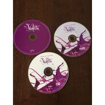 Cantar Es Lo Que Soy - Violetta - 2 Cd Y Un Dvd