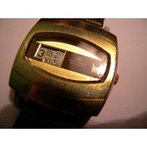Reloj Digital Automatico Bucherer Tv Años 60´s Funciona Ok