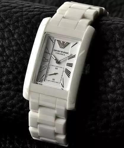 790a6814b7e Relógio Emporio Armani Ar1408 Cerâmica Branco + 90% Off!!!! - R  204