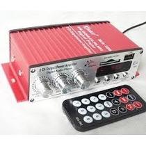 Mini Modulo Amplificador Kinter Ma-120 2ch Controle Remoto