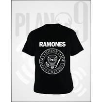 Remeras Estampadas Ramones
