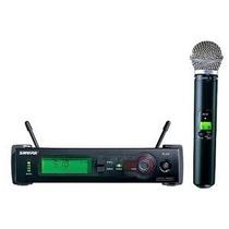 Microfone Shure Sem Fio Slx24 Beta 58 - Frete Grátis