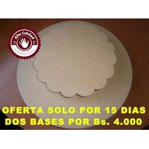 Bases Giratorias Para Torta Oferta 2x1 De 40cm Y 25 Cm En 9m