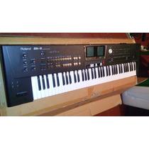 Teclado Roland Bk9 Novo Na Caixa Nunca Usado