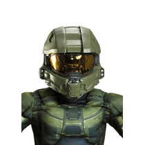 Casco Completo Halo Master Chief Niño
