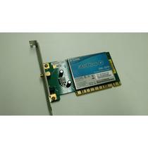 Placa De Rede Dwl-g510 54mbps Wireless-g Lan Pci (sem Antena