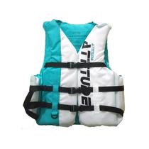 Ccolete Salva Vidas,importado, Azul/branco Até 120kg