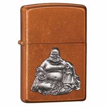 Encendedor Zippo 21195 Buddha/e Marron Caramelo Buda