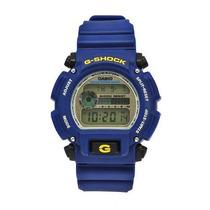 Casio Dw G-shock Goma Azul Digital Dial Watch De Men