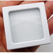 Caixa 4,5cm C/ Visor De Vidro P/guardar Jóias E Pedras