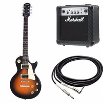 Guitarra Electrica Epiphone Les Paul-100 With Amp And Cable