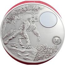 Moneda Hombre Lobo Palau 2013