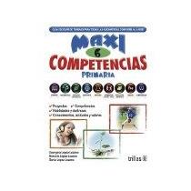 Libro Maxi Competencias Primaria 6 *cj
