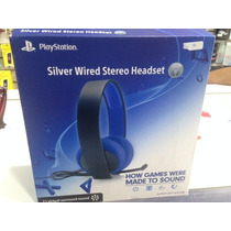Headset Pulse Sony 7.1 C/ Fio Silver Ps3
