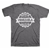 Nuevas Franelas Venezuela 100% Algodón Estampado Resistente