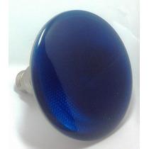Lâmpada Colorida Halogena Par 38 100w 127v Azul