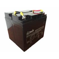 12v 36ah Agm Vrla Batería, Sellada (2 En Paralelo De 18ah)