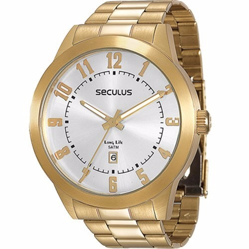 8d43b1463d5 Relógio Seculus 28692gpsvda2 - 2 Anos De Garantia - R  238