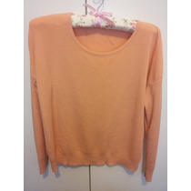 Sweater Color Durazno Estilo Cher Jazmin Chebar Akiabara