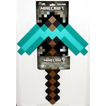 Minecraft Pico Pickaxe Mojang Foam Edicion Diamante 45cms