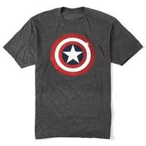 Remeras Capitan America Marvel Originales Importadas Nuevas!