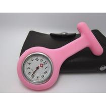 Relógio Para Jaleco - Rosa Claro - Enfermagem / Medicina