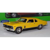 1:32 Chevrolet Nova Ss 1969 Amarillo Signature Models C Caja