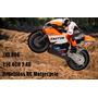 Mini Moto Jdx 806 1:16 Controle Remoto Frete R$ 16,90