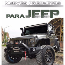 Defensa Modular Trasera Brj80 Jeep Wranger 2016 End Cap Com