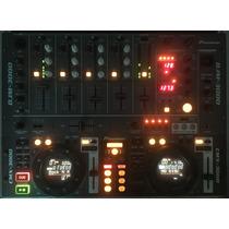 Cdj Pioneer Cmx 3000 + Mixer Pioneer Djm 3000 + Case