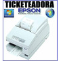 Impresora Comandera Ticketeadora Epson Tmu-375 !! Oferta !!