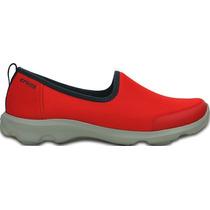 Zapato Crocs Dama Busy Day Stretch Skimmer Rojo