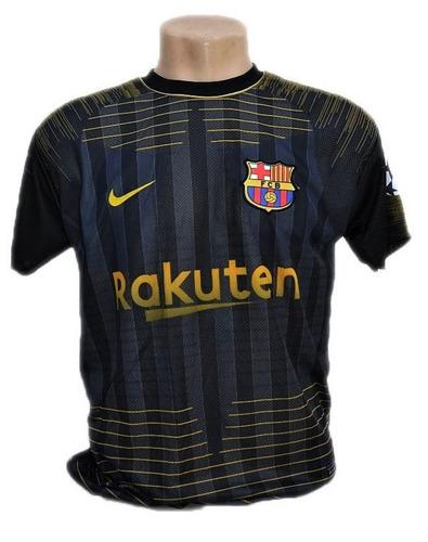 ad56710d2f Camisa Do Barcelona Nova Coutinho Messi Bordado Barato 2019 - R  29 ...