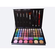 Paleta De Maquiagem Sombras 3d E Foscas Jasmyne V248