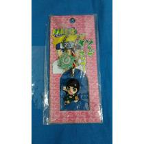Naruto Rock Lee Chaveiro Strap Boneco Figura Anime