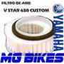 Filtro Aire Yamaha Xvs 650 V Star Original Solo En Mg Bikes